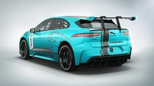 Blue Car Electric Car Jaguar I Pace Race Car Sport Car Ethrophy 1920x1080 wallpaper