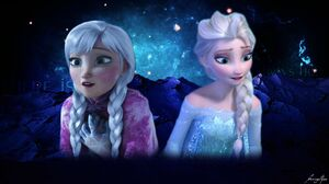 Anna Frozen Elsa Frozen Frozen Movie 1920x1080 Wallpaper