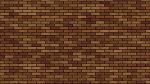 Brick Brown Pattern Wall 3000x2000 wallpaper