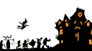 Holiday Halloween 5500x2514 Wallpaper
