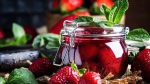 Berry Fruit Jam Strawberry 2000x1334 Wallpaper