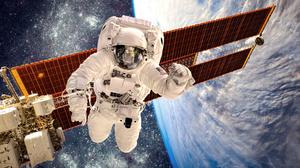 Sci Fi Astronaut 4928x3280 Wallpaper