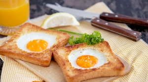 Egg Toast Still Life 1920x1219 Wallpaper