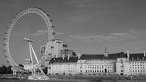 London London Eye Ferris Wheel River Thames UK England River City City Symbol 6240x4160 Wallpaper