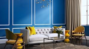Furniture House Interior Sofa Style 3840x2400 Wallpaper