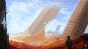 Sci Fi Post Apocalyptic 3500x1969 Wallpaper