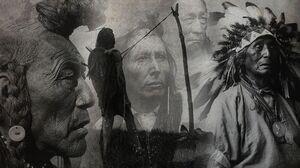 Artistic Native American 2560x1600 Wallpaper