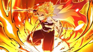 Kyojuro Rengoku Boy 4755x2680 Wallpaper