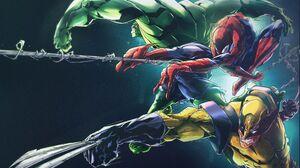 Avengers Bruce Banner Comics Hulk Logan James Howlett Marvel Comics Peter Parker Spider Man Superher 7004x4997 Wallpaper