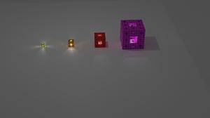 Abstract Simple 3D Menger Sponge 7680x4320 Wallpaper