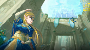 Zelda 4157x1972 wallpaper
