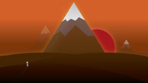 Minimalist Sunset 1920x1080 Wallpaper