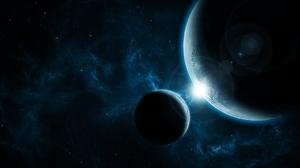 Sci Fi Planets 2560x1600 Wallpaper