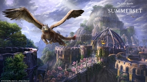 The Elder Scrolls Online The Elder Scrolls Online Summerset RPG Video Games PC Gaming 2018 Year Grif 1920x1080 Wallpaper