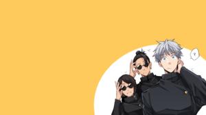 Anime Sunglasses White Hair Blue Eyes Orenji Hnkn 2560x1440 Wallpaper