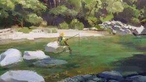 Fantasy Art Artwork Video Game Art The Legend Of Zelda The Legend Of Zelda Breath Of The Wild 1920x1153 Wallpaper