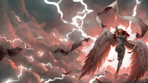 Artwork Fantasy Art Angel Women Wings Armor 1920x961 Wallpaper