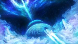 Sci Fi Spaceship Planet Space Shuttle 2560x1440 Wallpaper