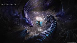The Elder Scrolls Online The Elder Scrolls Online Scalebreaker RPG Video Games PC Gaming 2019 Year 1920x1080 Wallpaper