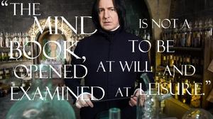 Alan Rickman Quote Severus Snape 1680x1050 Wallpaper