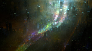 Sci Fi City 3840x1920 Wallpaper