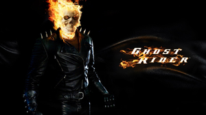 Black Fire Flame Ghost Rider Skull 1600x1200 Wallpaper