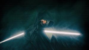 Ahsoka Tano Rosario Dawson Star Wars The Mandalorian Lightsaber Digital Art 7680x4320 Wallpaper