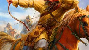 Mongols Archer 1111x1389 Wallpaper