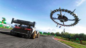 Forza Forza Horizon 4 LEGO LEGO Speed Champions McLaren McLaren Senna UFO Racing 3840x2160 Wallpaper
