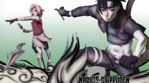 Sakura Haruno Sai Naruto 3078x2300 Wallpaper