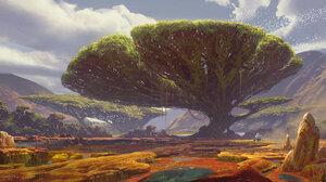 Fantasy Landscape 1920x1056 Wallpaper
