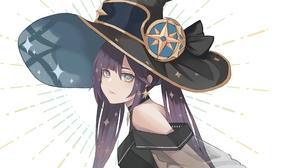 Genshin Impact Mona Genshin Impact Anime Anime Girls Anime Games Video Game Art Video Game Character 2500x2073 Wallpaper