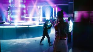 Night Club Cyberpunk Cyberpunk 2077 CD Projekt RED Screen Shot Video Game Art 2560x1440 Wallpaper