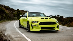 Car Ford Ford Mustang Green Car Muscle Car Vehicle 2500x1667 Wallpaper