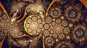 Abstract Artistic Digital Art Fractal 1920x1080 Wallpaper