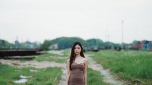 Women Asian 4162x2341 Wallpaper