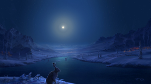 Artistic Winter 2048x1152 Wallpaper