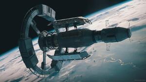 Orbit Space 2000x1121 Wallpaper