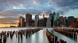 Manhattan New York 1920x1200 Wallpaper