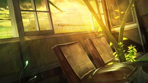 Chair Sunshine 3840x2161 Wallpaper