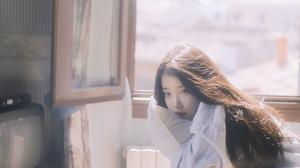 IU Iu Lee Ji Eun Women Looking Away Brunette Korean 1728x1080 Wallpaper