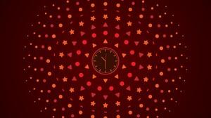 Artistic Clock 7912x4465 Wallpaper