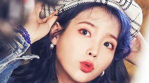 IU K Pop Makeup Women Korean Women Red Lipstick Women Indoors Indoors Dark Hair Asian 800x1645 Wallpaper