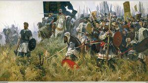 Knight Army Military Artwork 2503x1344 Wallpaper