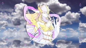 Picture In Picture Angewomon Digimon 1920x1080 wallpaper