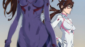 Anime Girls Anime Neon Genesis Evangelion Asuka Langley Soryu Makinami Mari Illustrious Portrait Dis 1252x1772 Wallpaper