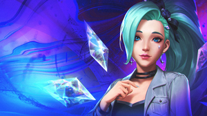 K Da Seraphine League Of Legends 3840x2160 Wallpaper