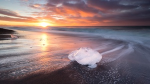 Horizon Nature Ocean Sky Sunrise 1920x1280 Wallpaper