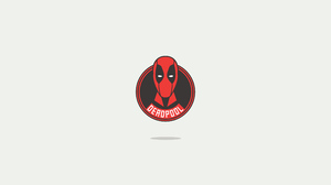 Deadpool Marvel Comics Minimalist 3840x2160 Wallpaper