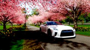 Forza Horizon 4 GTR R33 Video Games Car Screen Shot Vehicle White Cars 1920x1080 wallpaper